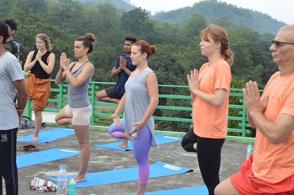 Yoga teacher training, rishikesh, india, rishikesh yogpeeth, green tara wellness, 200 hour,