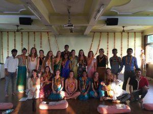 Rishikesh yogpeeth, yoga school, yoga, rishikesh, green tara wellness, 200 hour yoga teacher training, graduation