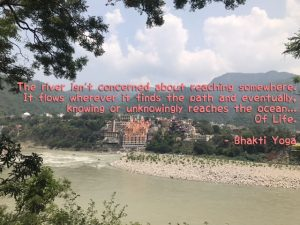 Rishikesh yogpeeth, yoga school, yoga, rishikesh, green tara wellness, 200 hour yoga teacher training, ganges, river, flow