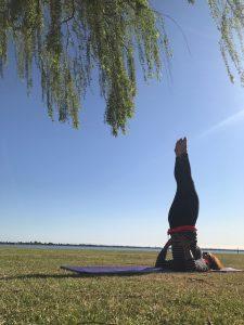 shoulder stand, pose, asana, yoga, how to,